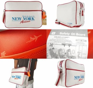 Airlines Retro Bag  NEW YORK AIRLINES