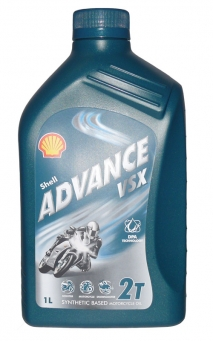SHELL  ADVANCE VSX 2T  (bidon 1 litre)