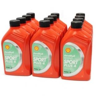 AEROSHELL OIL SPORTPLUS 4 (carton de 12 bidons)