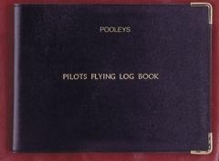 Protége carnet de vol ULM en cuir ( version anglaise)