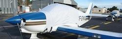 Bâche verrière Ecolight Plus pour DR 400 Dauphin Fixation forte
