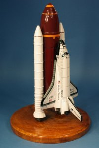 Enterprise SPACE SHUTTLE+BOOSTER