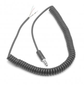 Cable standard de remplacement pour casque jack Hélico (U-174/U)