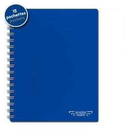 PROTECT''DOC de 15 Pochettes transparentes A5 pour cartes VAC ou JEPESSEN