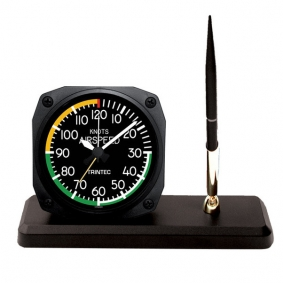 Horloge de bureau style AIR SPEED +  receveur à stylo