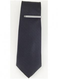 Cravate noire modèle RADIAL