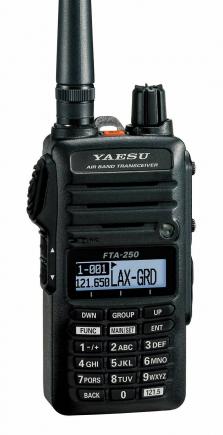 Emetteur-récepteur AVIATION YAESU FTA-250 L