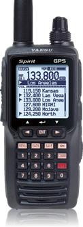 Emetteur-récepteur AVIATION YAESU FTA-750 L +VOR+ILS+GPS