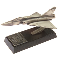 Mirage 2000 en étain