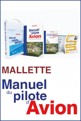 Malette du Manuel PILOTE PPL LAPL 18 ed CEPADUES +livret de progression