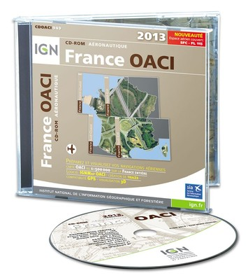 CD ROM FRANCE OACI IGN 2015