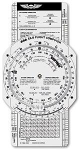 Flight Computer E6B P ASA ou GLEIM
