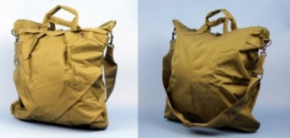 SAC A CASQUES type US vert-olive