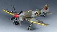 Tempest V RAF squadron 3