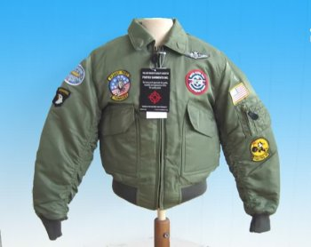 CWU-45 FLIGHT JACKET TOP GUN pour enfant