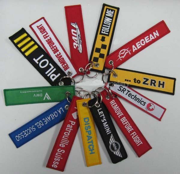 Porte-clé aux choix avec le nom de votre entreprise