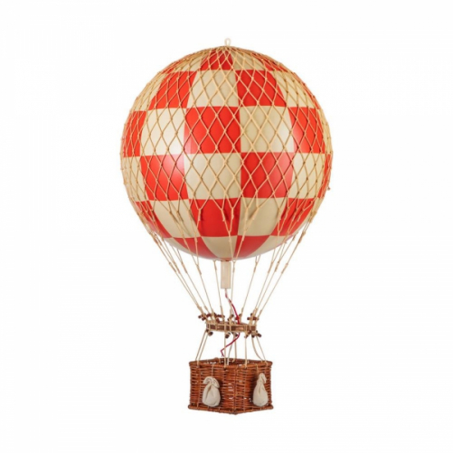 Ballon Montgolfière Royal Aéro check Red