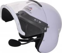 Casque intégral Micro Avionics équipé avec un headset UL 200 ANR