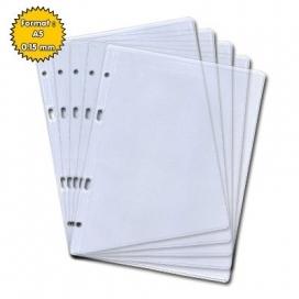 Lot de 5 pochettes plastiques A5 de qualité supérieure (0.15mm) Pocket'Aéro 5/5.4+