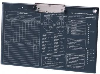 Planche de vol A4 simple FB-2 Pooleys