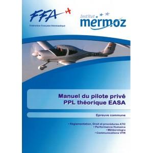 Institut MERMOZ: Manuel du pilote privé EASA T1/2 pour formation E-LEARNING