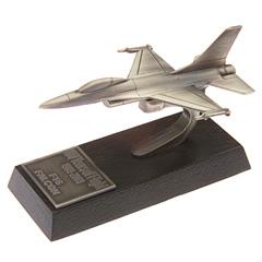 F16 Falcon en étain