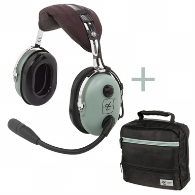 CASQUE DAVID CLARK H10-13.4 + SACOCHE DAVID CLARK