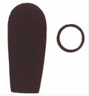 Lot de 5 mousses- micro standard avec anneau