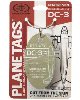 Porte-clé/porte-étiquette DC 3