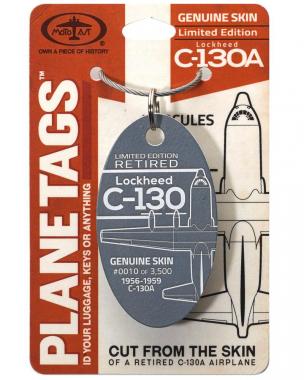 Porte-clé /porte-étiquette Hercules C-130 A