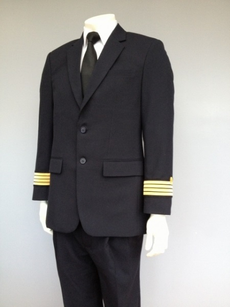 aviateur Galons De Manches Uniforme 3 Galons PILOTE
